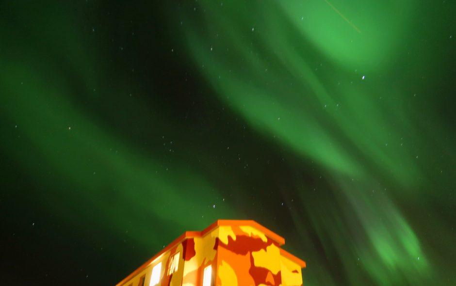 Mit Bombenstimmung nach Island