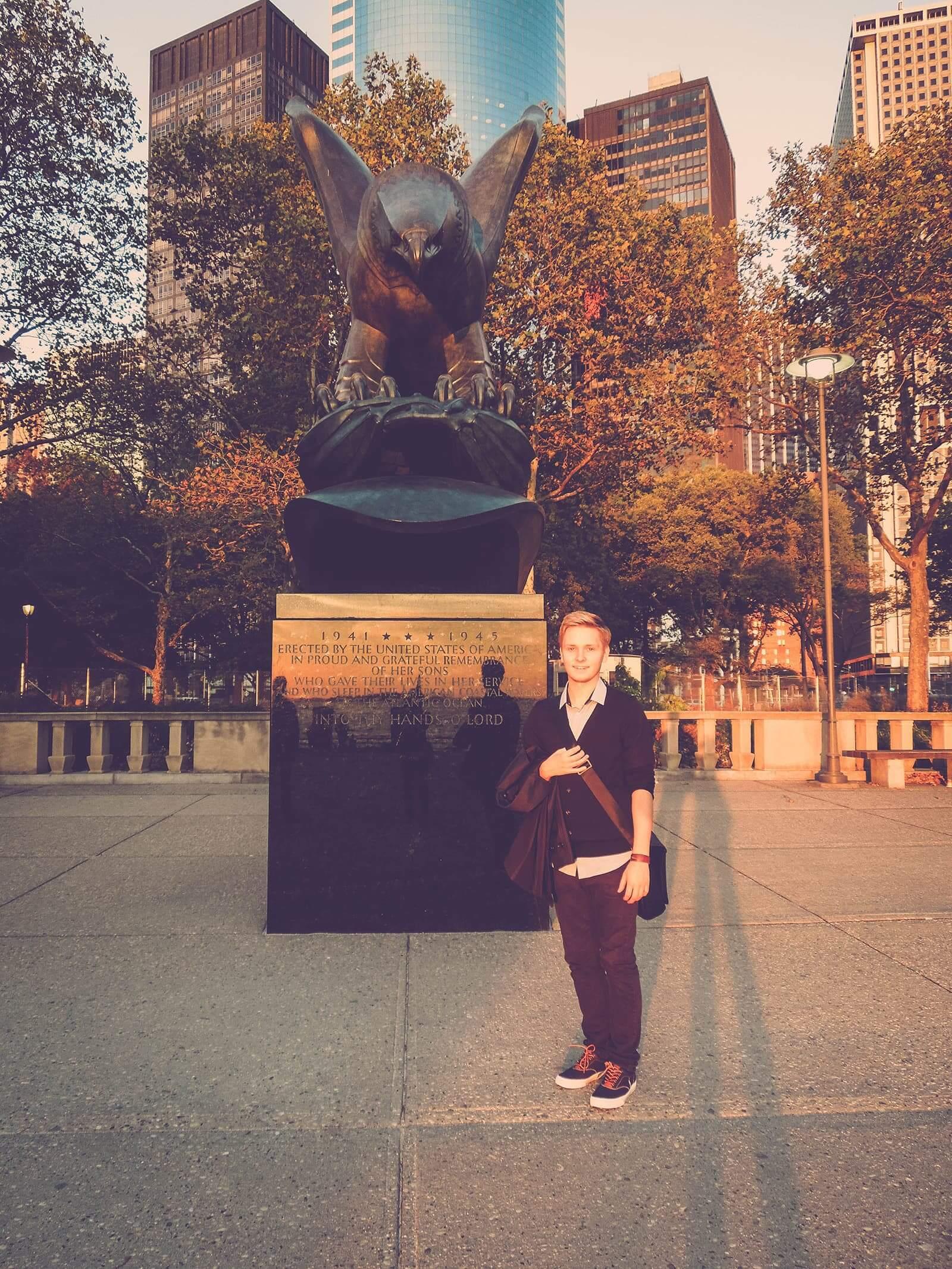 Danny in New York