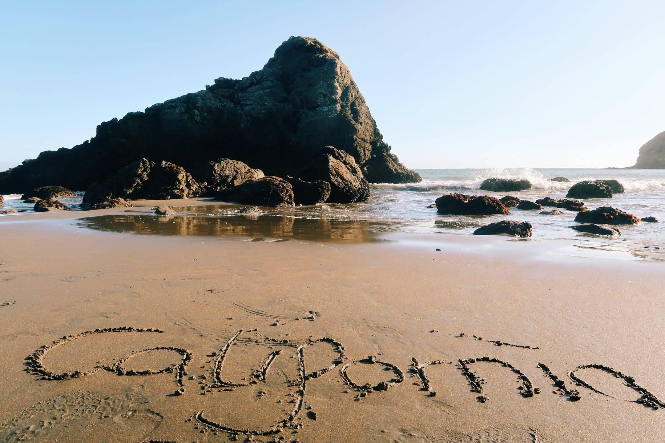 Schön verfahren zum Muir Beach