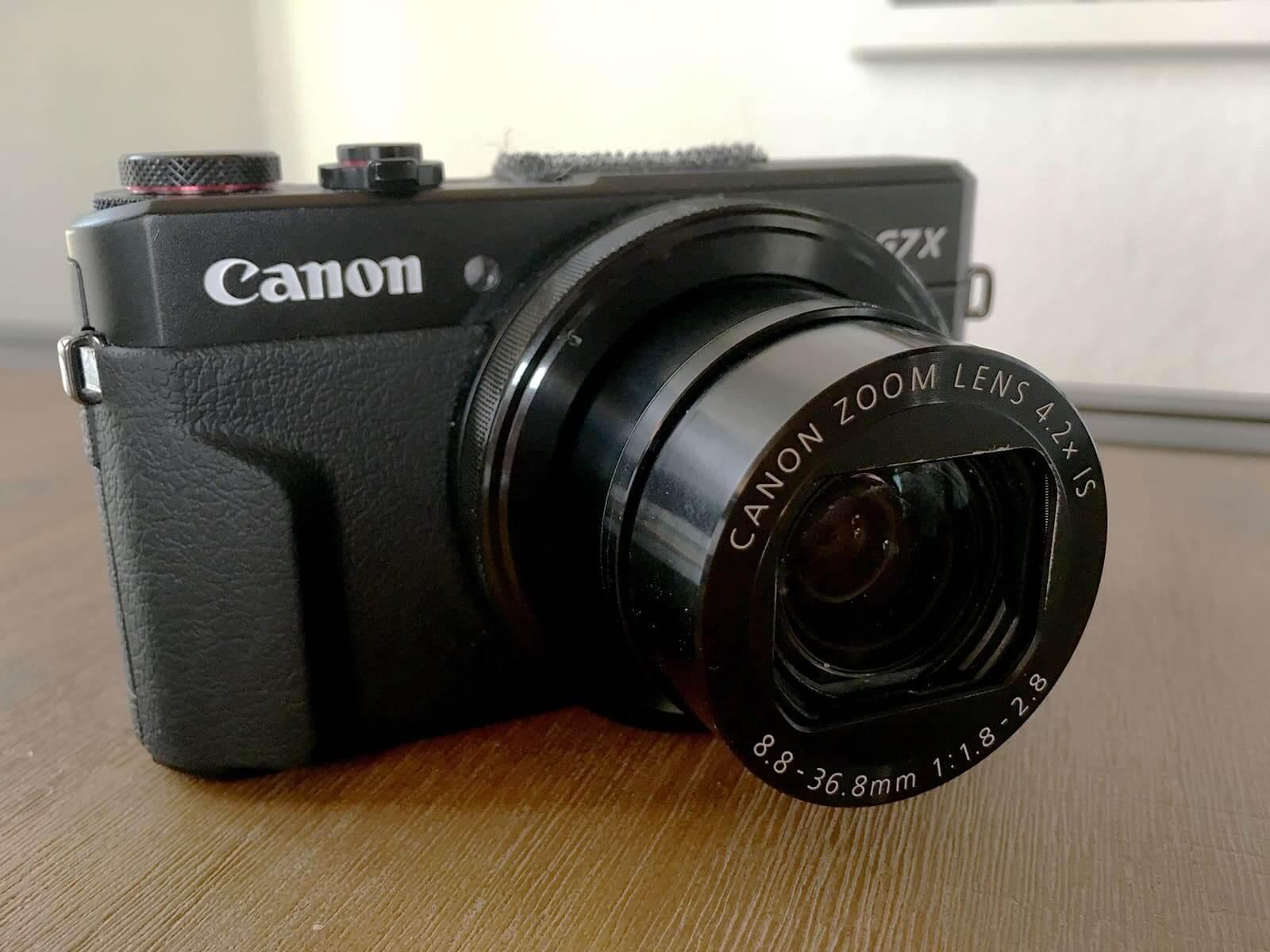 Die Canon G7X Mark II als Vlog- und Instagramkamera nutzen