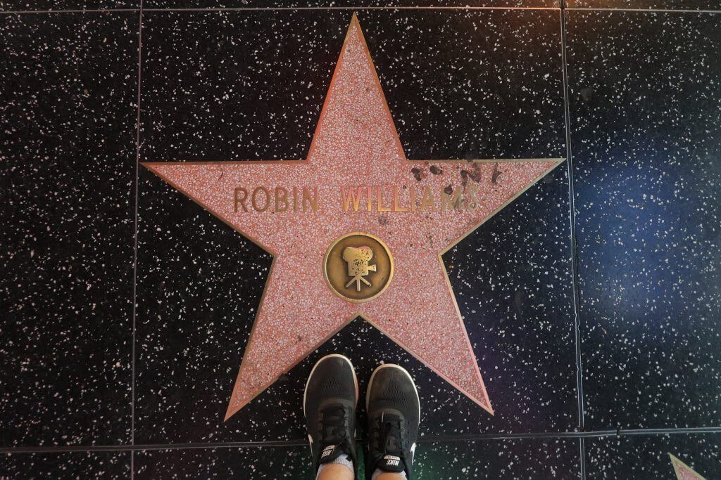 Walk of Fame Robin Williams