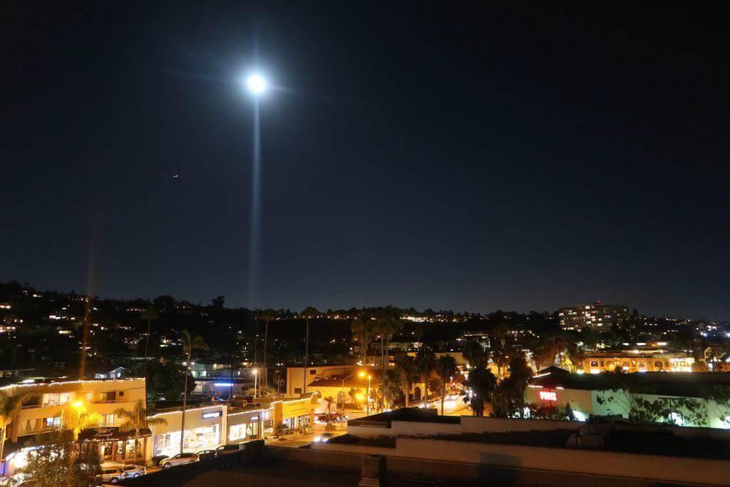 Nachts über San Diego