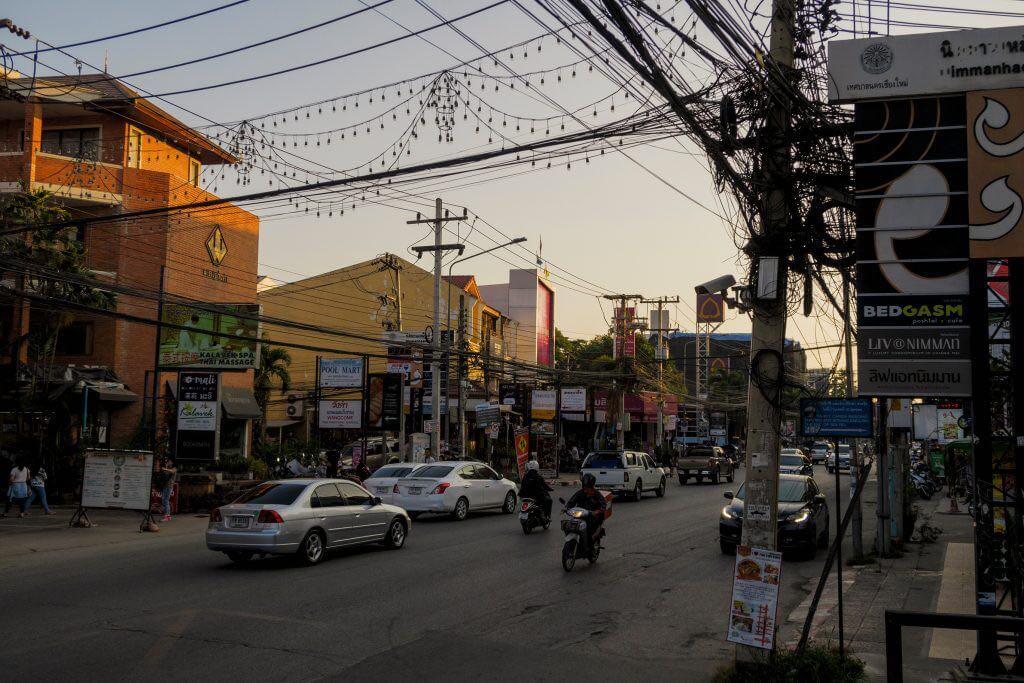 Nimman Road Chiang Mai