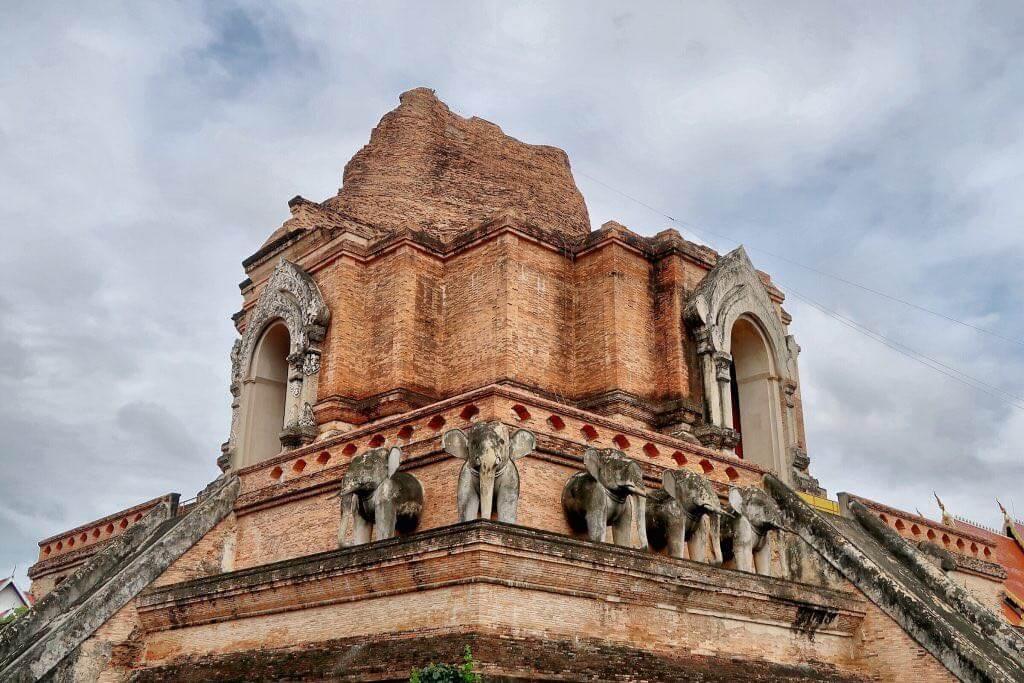 Wat Chedi Luang Alter Tempel