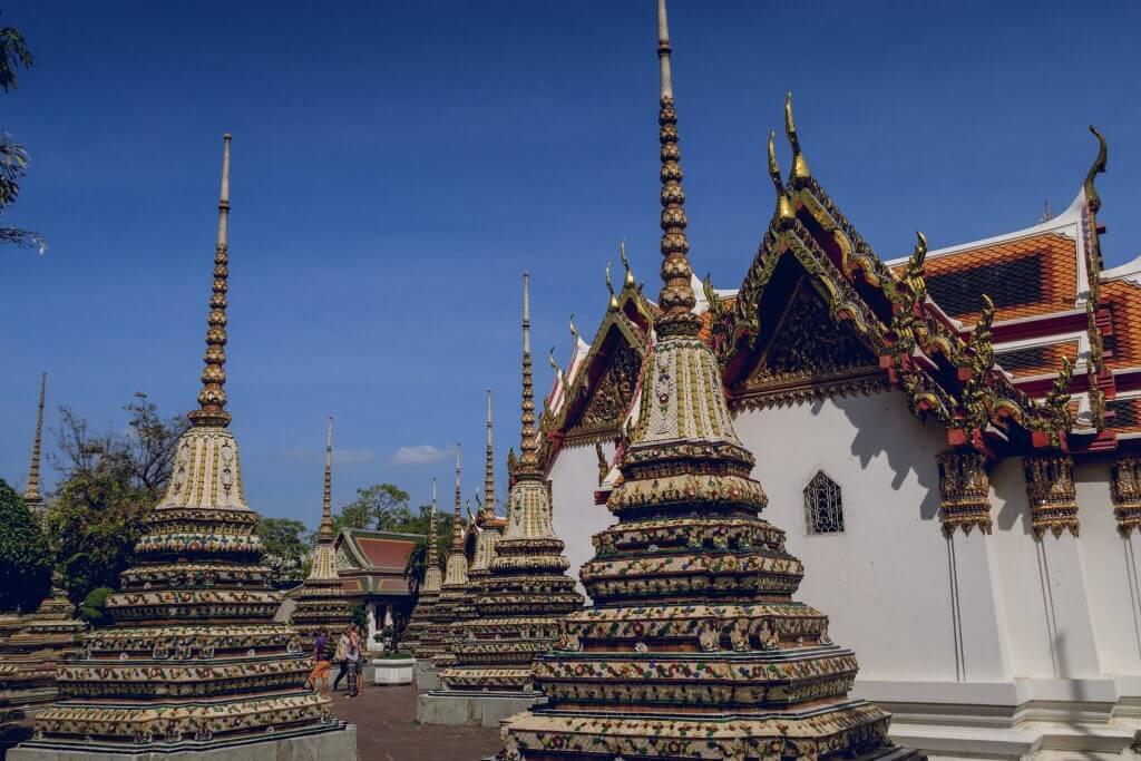 Chedi am Wat Pho Bangkok
