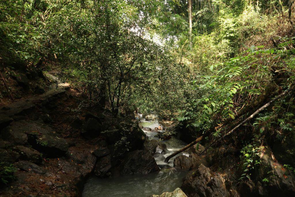 Fluss am Bang Pae Wasserfall